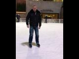 Джордж Сент-Пьер на льду.