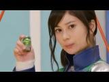 Green Sentai Henshin (Goranger - Kyuranger)