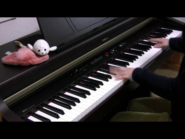 【さかさふくろう】「ECHO」をピアノで弾いてみた / piano solo ECHO(Gumi, Crusher-P)