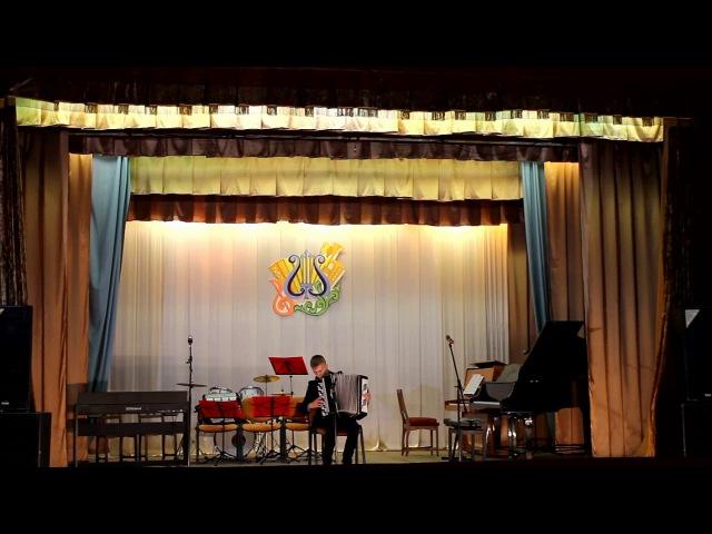 Циганочка - виконує Ярослав Ясінський, Звітний концерт ДМШ, смт Попільня, 28.04.2017 р.