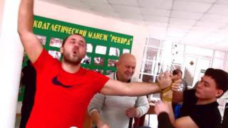 Кубок города Ачинска по армрестлингу 2016