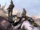 Call Of Duty Modern Warfare 2 смерть Гоуста и Роуча