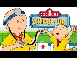Caillou Check Up – Doctor's Office