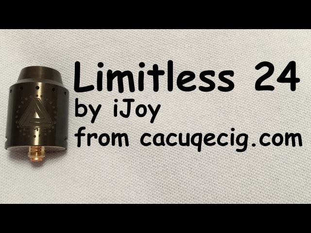 Limitless 24 by iJoy from Обзор Review Двойная калифорнийская
