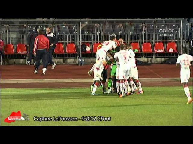 Danijel Subasic Free Kick vs Boulogne-sur-Mer