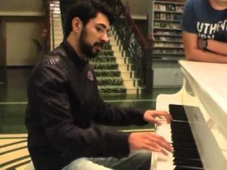 Skripka Ramin pianoda Gafgaz Resort Hotel Gebele