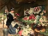 Светлана РЕЗАНОВА - Цветочница Анюта