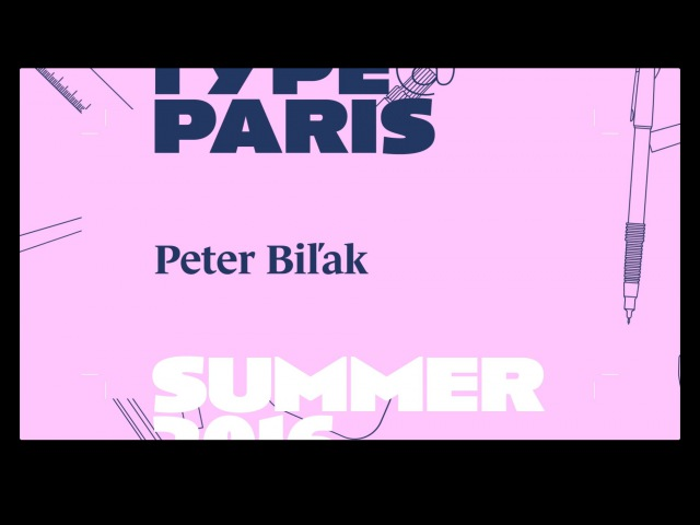 Tptalks16 Peter Bilak