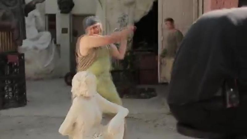 Владимирская,15 Backstage <Съёмки драки со скульптором>
