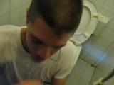Отсасывает в туалете #gay #porn #suck #cum #toilet