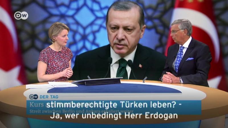 2017-03-06 DW, Wolfgang Bosbach: Keine Wahlkpamfauftritte von türkischen Ministern