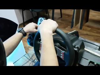 Тренажёр в автошколе с VR
