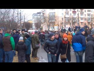 Митинг в Смоленске. В круге втором. Ч.1