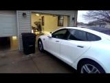 [ГРАР] Tesla самостоятельно паркуется в гараже