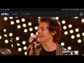 Vídeo de Harry cantando Sign of the Times en #Quotidien