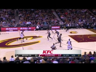 Cleveland Cavaliers - Brooklyn Nets on Quicken Loans Arena 27.01.2017