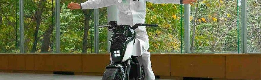 Honda создала мотоцикл, с которого нельзя упасть