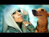Леди Гага, и пес ла ла ла