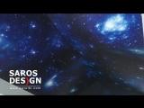 натяжной потолок saros design с эффектом звездное небо