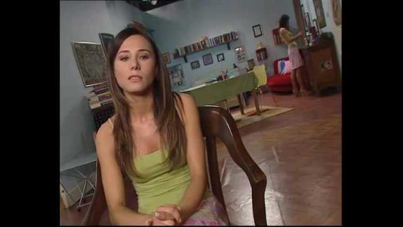 Burcin Terzioglu - Kadın İsterse dizisi Kamera Arkası 2006