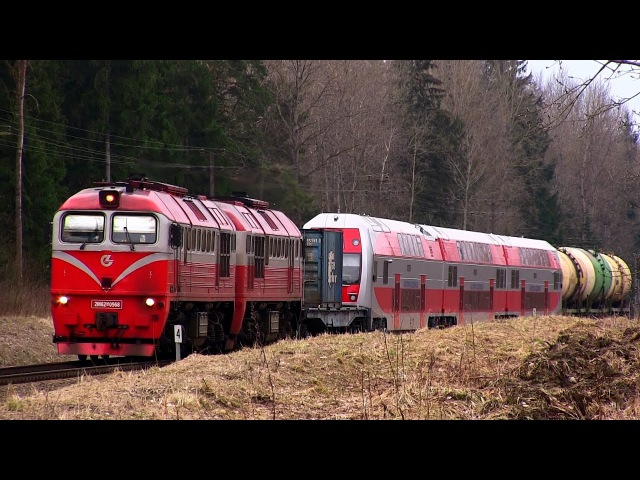 2М62М-0568 с новым електропоездом EJ575-013 / 2M62M-0568 with a new ŠKODA EMU EJ575-013