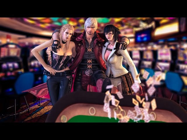 Devil May Cry 4 Special Edition Dante,Trish and Lady