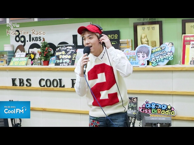 이홍기 '소주 한 잔' 라이브 LIVE / 170118[이홍기의 키스 더 라디오
