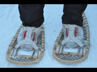 How It's Made Traditional Snowshoes