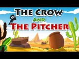Story Time - The Crow and the Pitcher  Thirsty Crow  Aesop's Fables  Story
