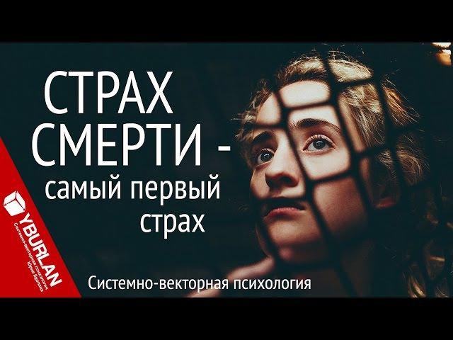Самый первый страх. Системно-векторная психология. Юрий Бурлан