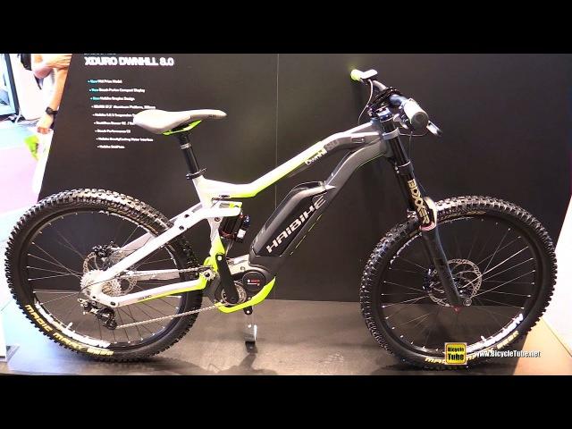 2017 Haibike xDuro DownHill 8.0 - Walkaround - 2016 Eurobike