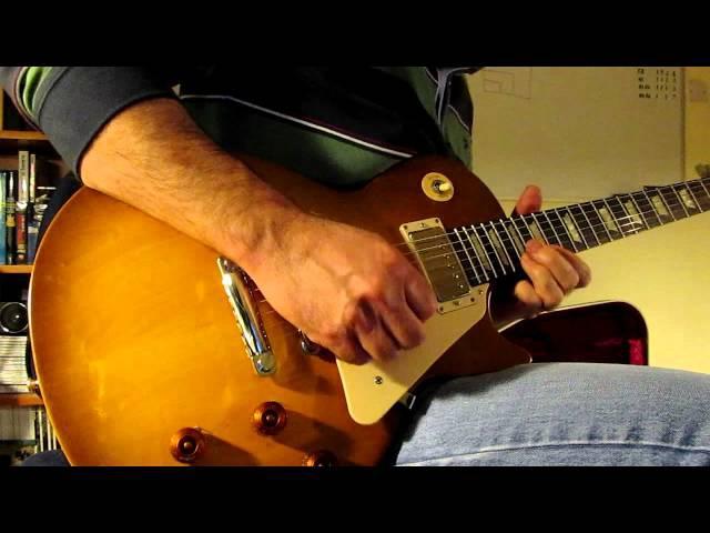 Gibson Les Paul Studio 50's Tribute with Humbuckers demo - Blues Jam - Matt Thorpe