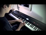 David Guetta feat Sia - She Wolf Falling To Pieces Piano Cover