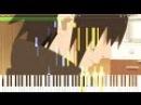 Naruto Shippuden - Sadness and Sorrow (Episode 475 OST) | Piano Tutorial, ナルト 疾風伝 【ピアノ】