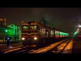 2М62-1145 с пассажирским поездом Львов - Рахов отправляется со ст.Ивано-Франковск