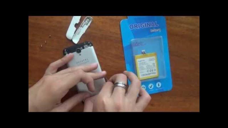 Замена батареи на ALCATEL onetouch idol 2 mini 6016x