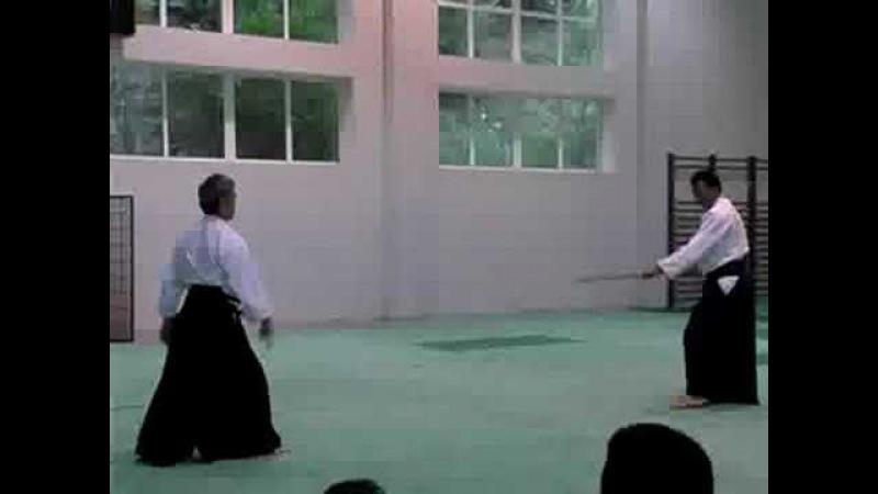 Kitaura Sensei JoBokken