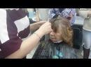 Женская стрижка Каскад . Технология выполнения. Мастер-класс Ксении Назаровой. (Полная версия)