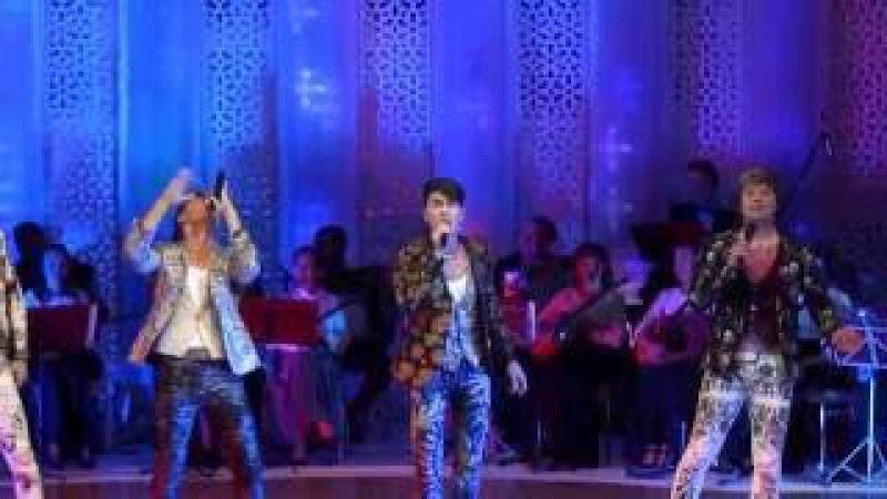 Группа На-на поет татарскую песню Умырзая! Дни культуры Татарстана в Москве 2016.