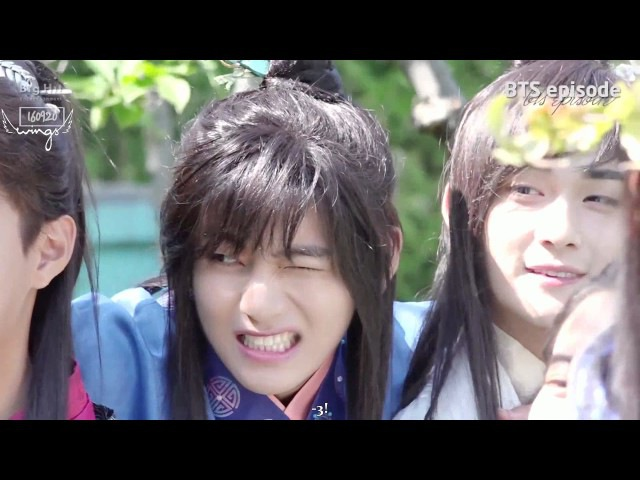 [Rus Sub][Рус Саб] [Episode] This is 한성 of '화랑 (Hwa Rang)' (a.k.a. BTS V ^ㅁ^)