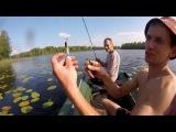 Рыбалка в начале осени. Озеро Опаринское, Новгородская обл. Пестовский р-н. (Рыбалка с Денчиком)
