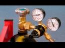 Сварка полуавтоматом. Как настроить давление защитного газа и его расход.