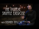Purdie Shuffle Exercise - Drum Lesson (Stephen Taylor)