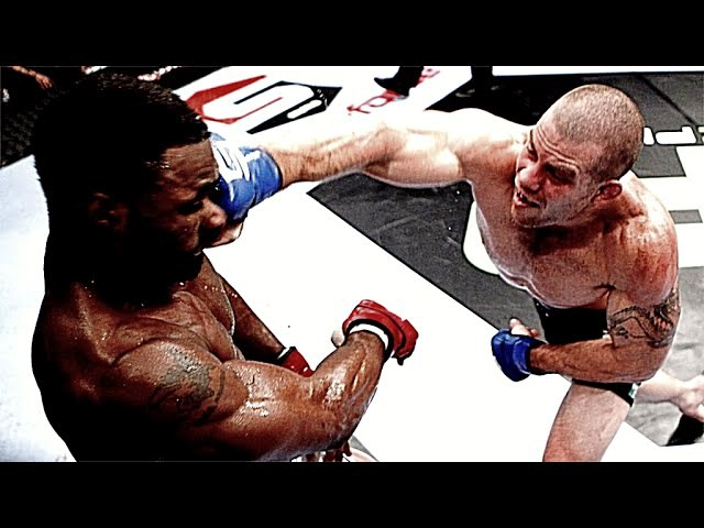 NATE MARQUARDT VS TYRON WOODLEY [FIGHT HIGHLIGHTS]