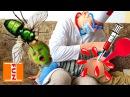 Играем в ДОКТОРА С УКОЛАМИ Отравился МУХОЙ! УКОЛ КЛИЗМА Doctor Game For kids