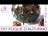 DIY Tutorial Foglia d'autunno con Twin beads (per il 3 concorso artedeco)