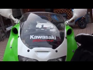 BEET RACINGを響かせ ZXR400 Kawasaki 究極ストリートレーサー K-RAS ZXR750R ZXR400R ZXR250 KIS-ARM 124