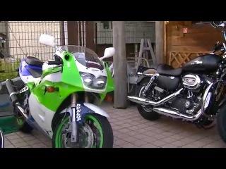 ビートレーシングサウンドを聞け ZXR400 Kawasaki 究極ストリートレーサー K