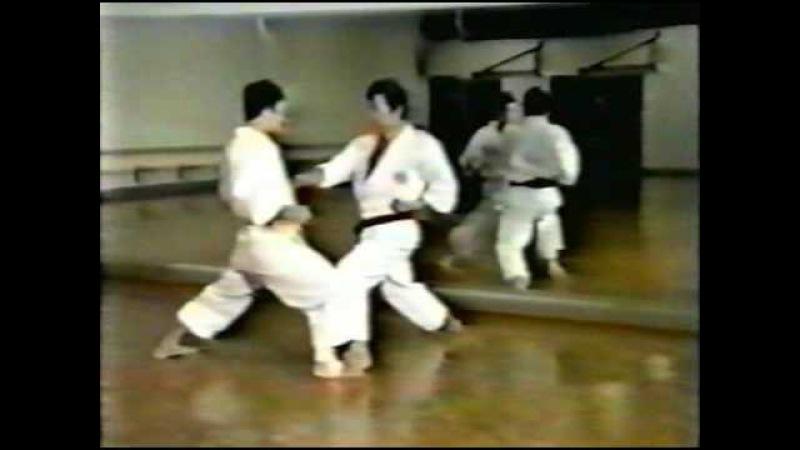 Техника санбон кумитэ - Хироказу Канадзава | Shotokan sanbon kumite technique - Hirokazu Kanazawa