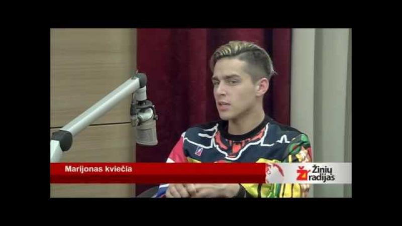 Donatas Montvydas at Marijonas kviečia (25.03.2016) RUSSIAN SUBS, Part 2